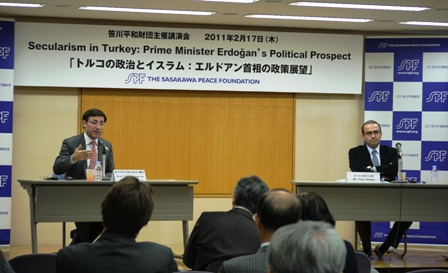 Lecture by the Turkey's Political,  Economics and Social Research  Foundation (SETA) specialist