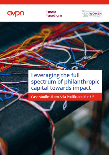 Leveraging the full spectrum of philanthropic capital towards impact