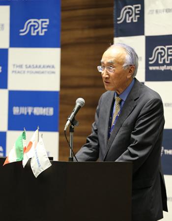 SPF Chairman Nobuo Tanaka