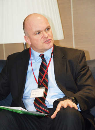 Head of Futures and Strategic Analysis for DCDC Brigadier Ewen Murchison