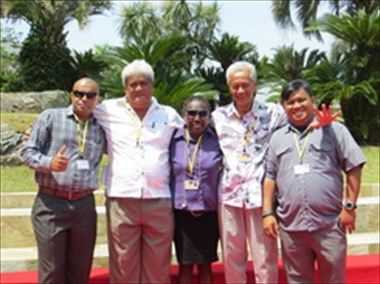 Up close and personal with SPINF-invited journalists in their coverage of the 7th PALM Summit