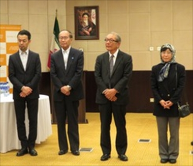 Interview with panelists at the Japan-Iran symposium in Tehran