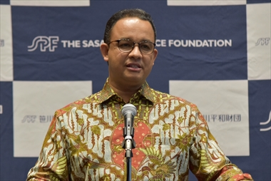 Interview with Dr. Anies Rasyid Baswedan,   Challenges of the young Governor of Jakarta, where multiple ethnic groups and cultures coexist