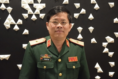 Interview with Major General Pham Duc Tho, the Head of the Delegation of the Vietnamese People's Army Field Officer Exchange Program to Japan