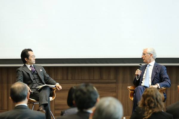 Discussion between Ronald Cohen and Yoichi Nishimura at the Social Impact Investment Forum 2018