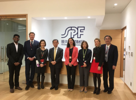 Sasakawa Peace Foundation to invest into BlueOrchard's flagship Fund