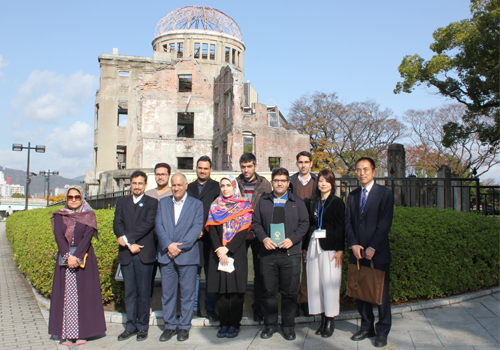 The legacy of nuclear war and the power of reconciliation: Iranian student delegation travels to Hiroshima