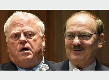Prof. James G. McGann & Prof. Kent E. Calder