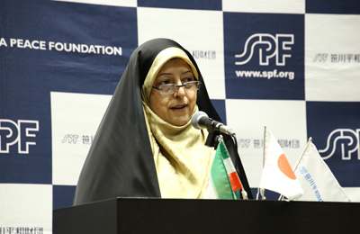 Interview with Dr. Masoumeh Ebtekar, Vice President for Women and Family Affairs of Iran