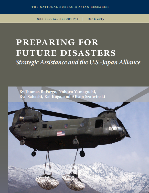 Preparing for Future Disasters: Strategic Assistance and the U.S.-Japan Alliance