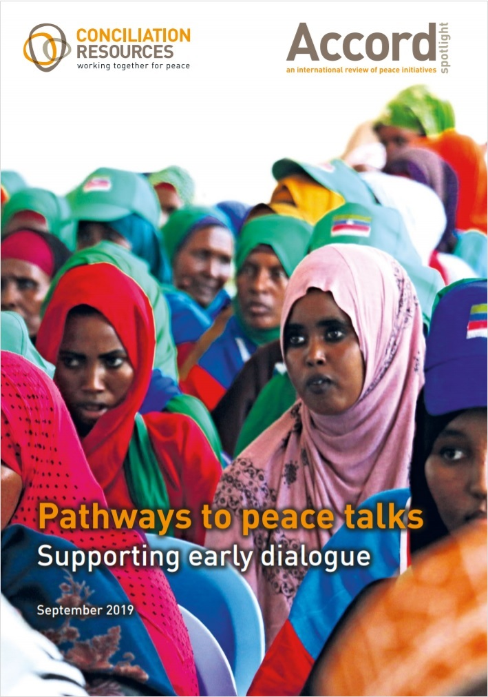 "<i> Accord Spotlight</i> publication ""Pathways to Peace Talks: Supporting Early Dialogue"" incorporates SPF peacebuilding experience in southern Thailand"