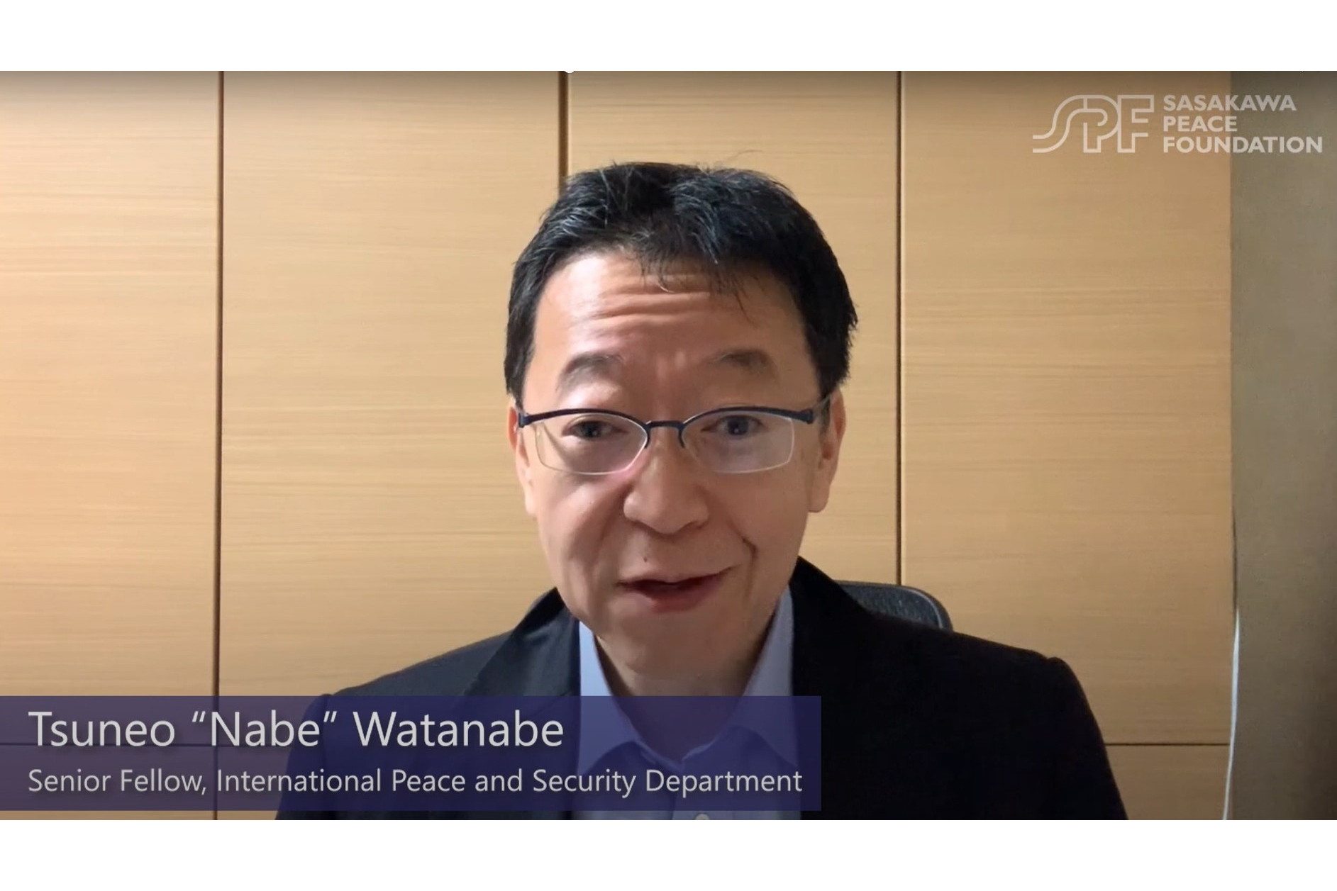"How is Japan Responding to COVID-19? Interview with SPF Senior Fellow Tsuneo ""Nabe"" Watanabe"