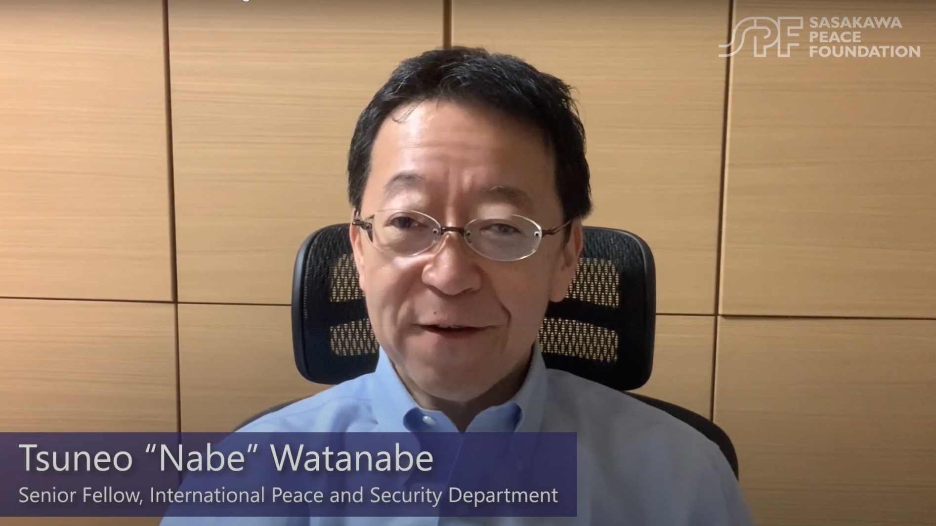 "COVID-19 updates from Japan: Interview with SPF Senior Fellow Tsuneo ""Nabe"" Watanabe"