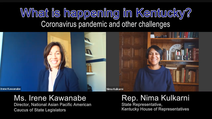 What is Happening in Kentucky? The Coronavirus Pandemic and Other Challenges<br>Interview Series with Asian American State Legislators No.2