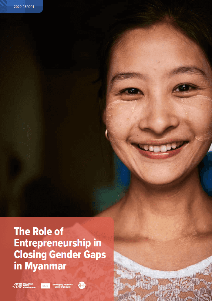 The Role of Entrepreneurship in Closing Gender Gaps in Myanmar
