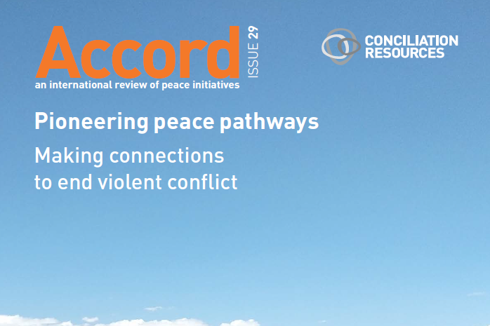 New Accord publication from UK's Conciliation Resources features SPF peacebuilding experience in southern Thailand