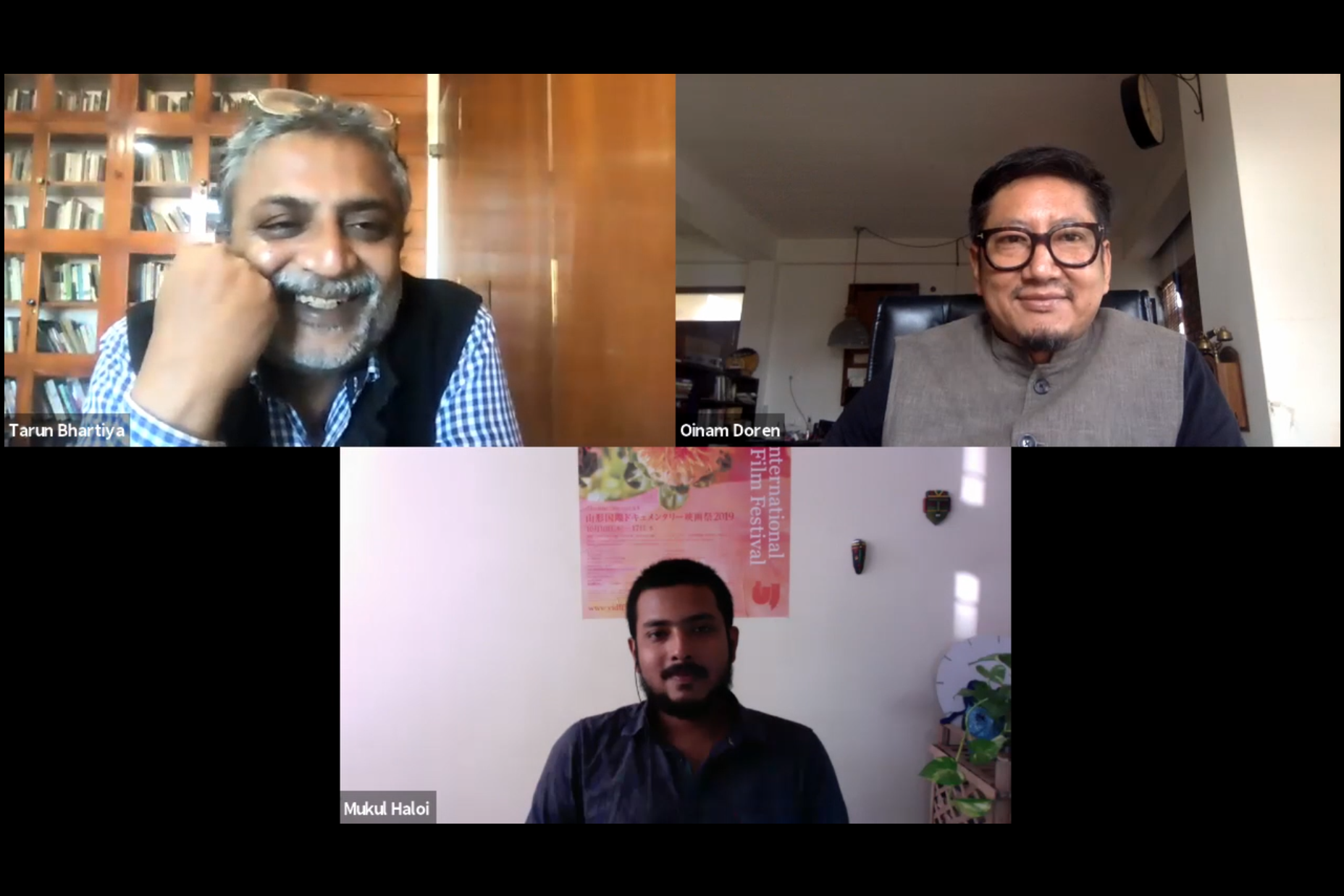 A spring for documentary filmmaking in Northeast India: A conversation with directors Mukul Haloi, Oinam Doren, and Tarun Bhartiya