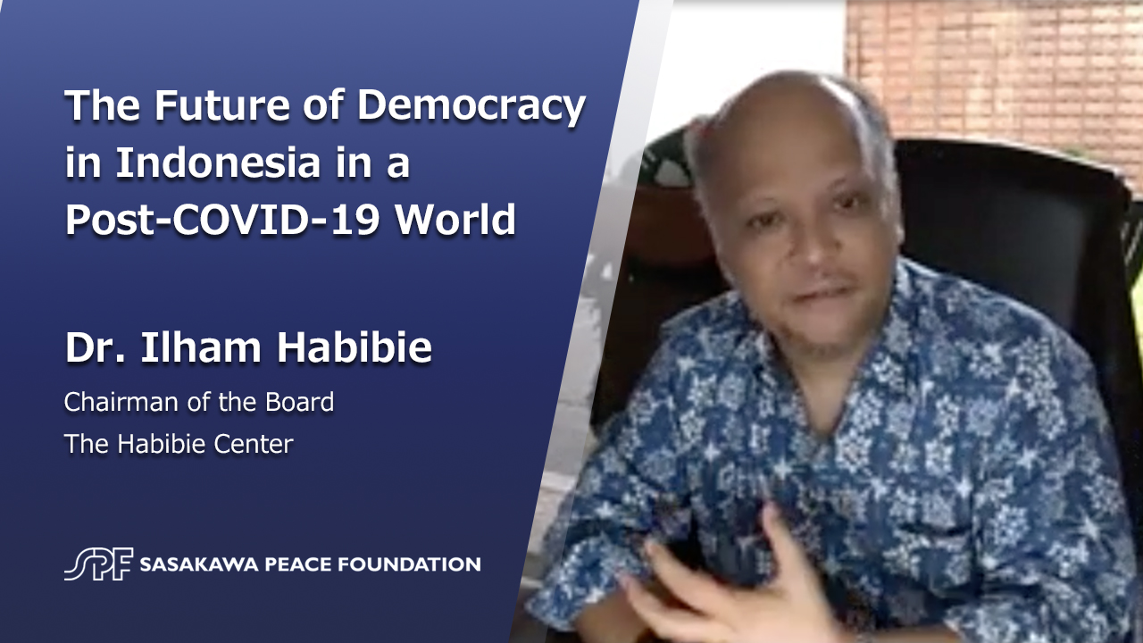 The Future of Democracy in Indonesia in a Post-COVID-19 World: Interview with Dr. Ilham Habibie