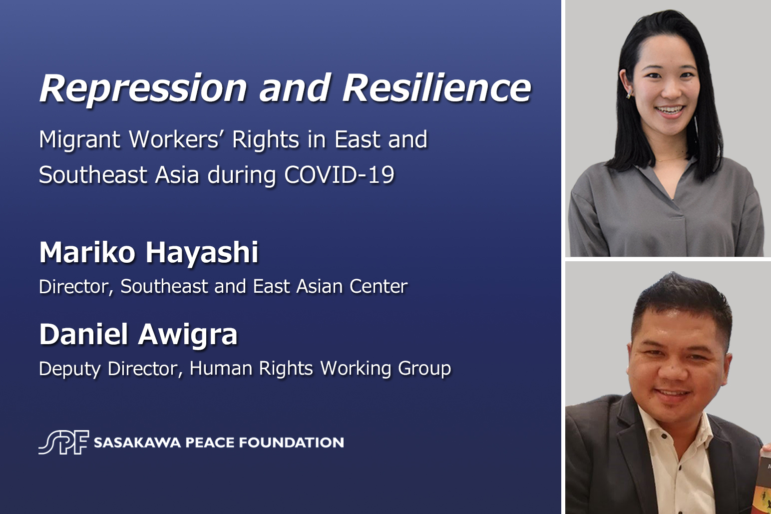 Repression and Resilience: Migrant Workers' Rights in East and Southeast Asia during COVID-19