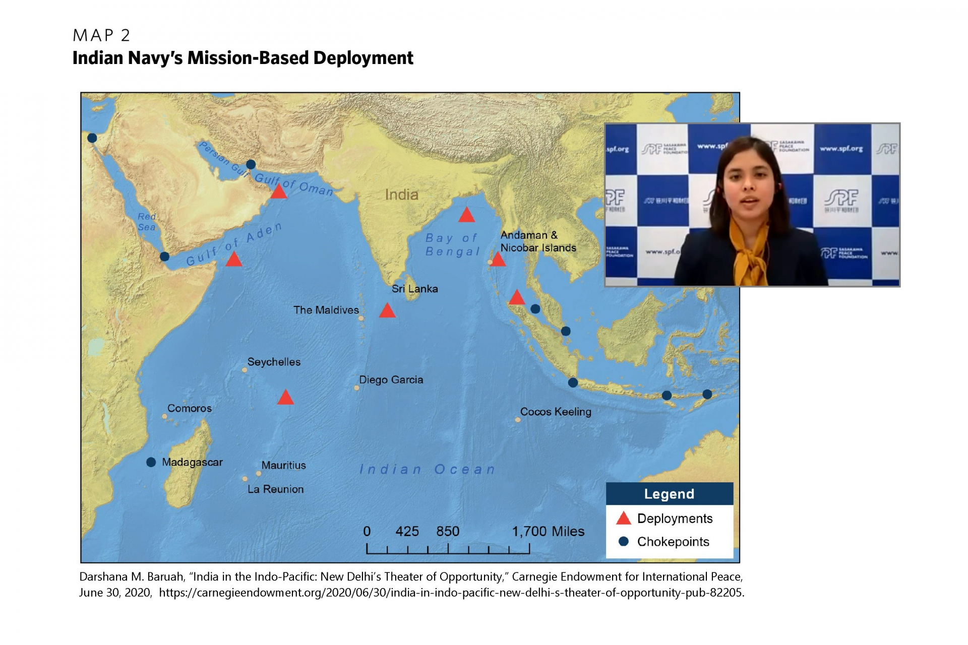 "Rising ""maritime identity"" of islands amidst increasing competition in the Indian Ocean"