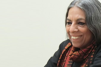 """Interview with Ms. Urvashi Butalia: """"Gendering the Perspective on India's Forgotten History for Peace"""""""