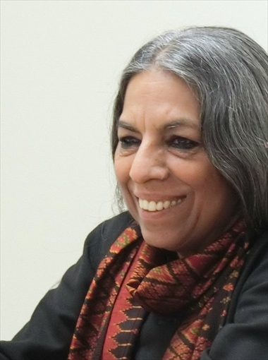 "Interview with Ms. Urvashi Butalia: ""Gendering the Perspective on India's Forgotten History for Peace"""