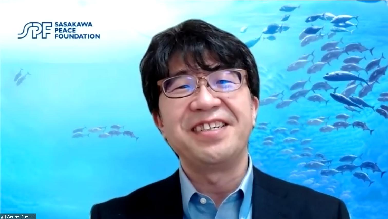 SPF Chairman Atsushi Sunami