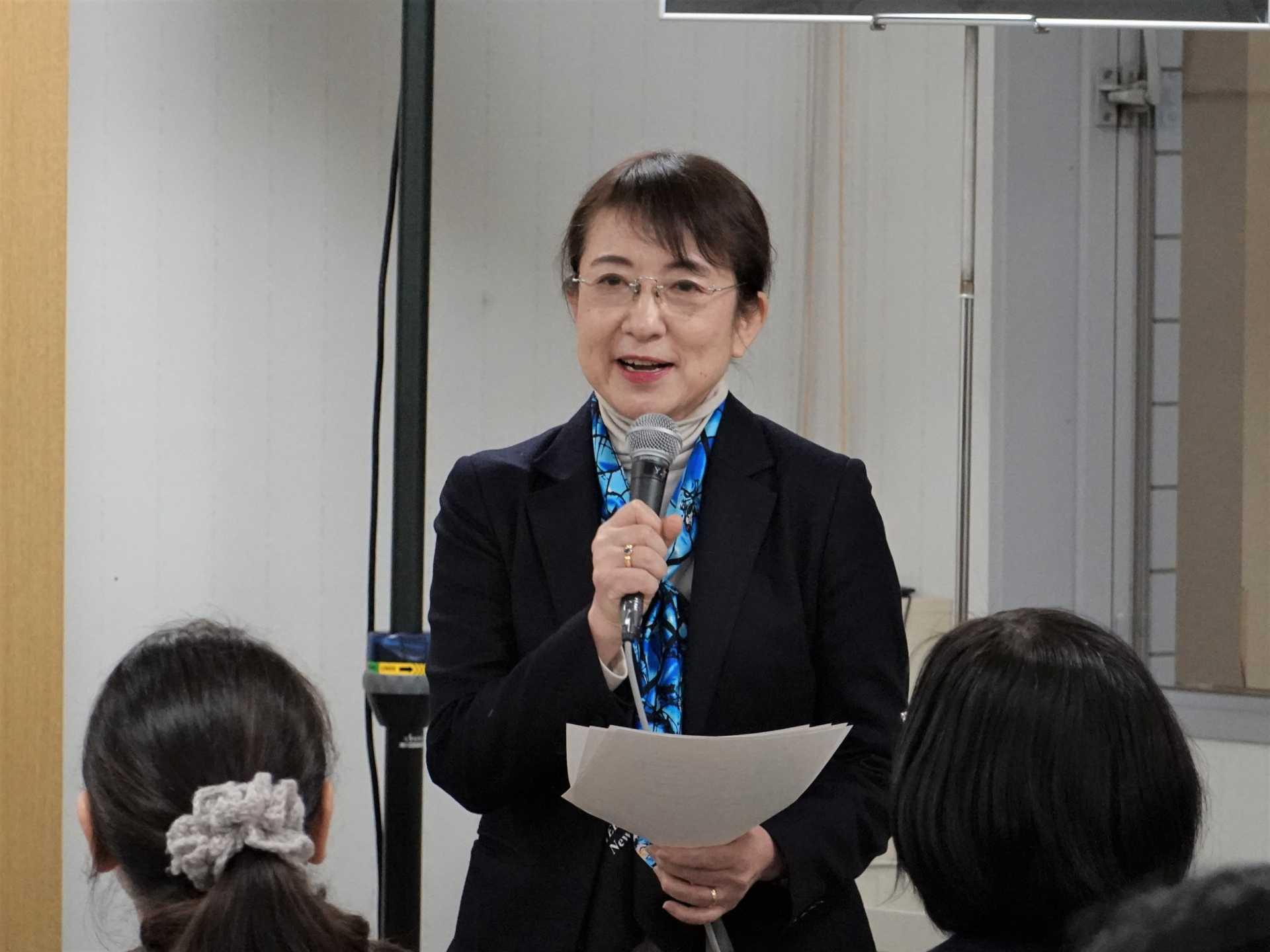 Ms. Atsuko Miwa (Director, Hurights Osaka)