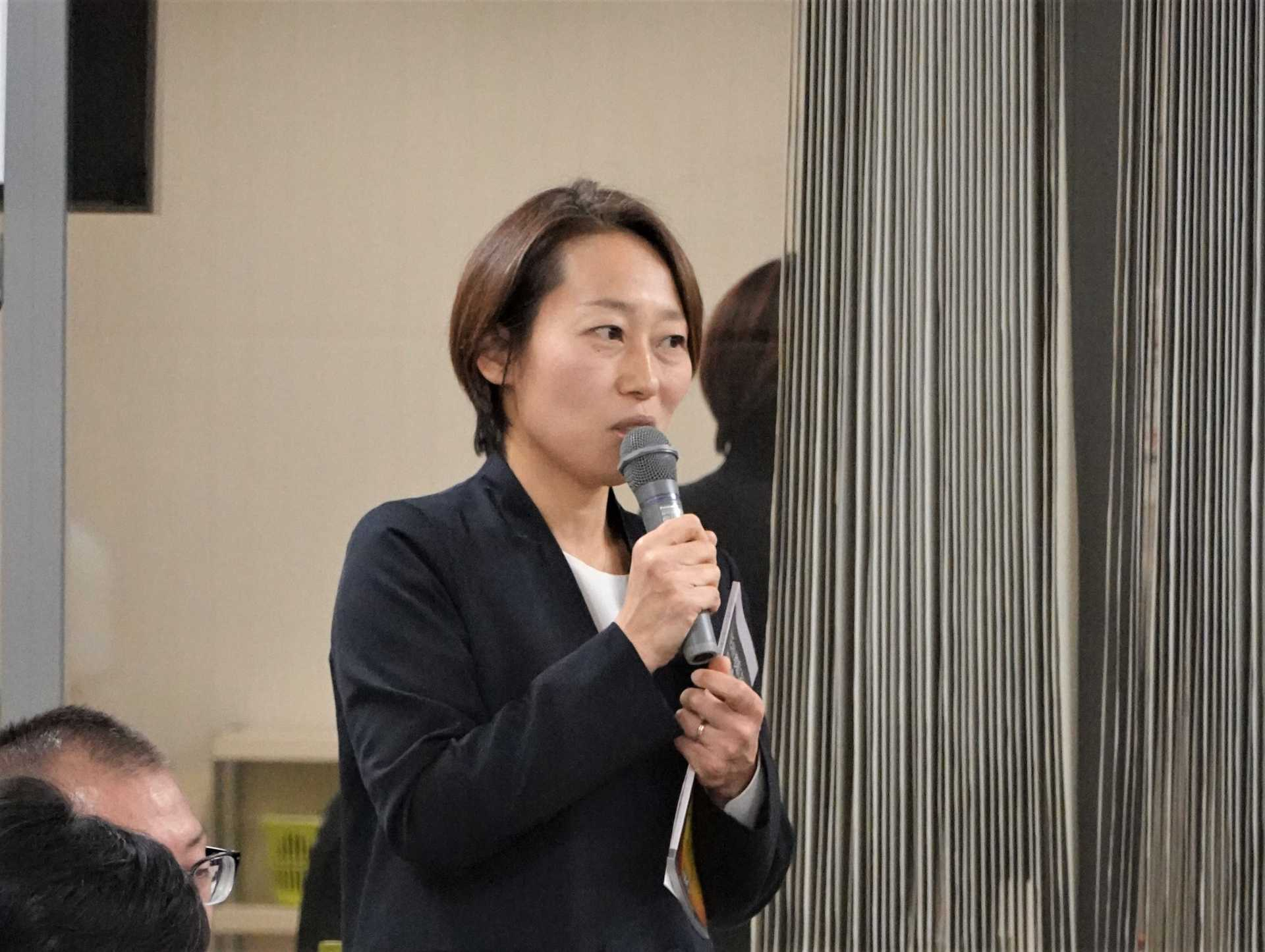 Maho Nakayama (Director, Asia Peace Initiatives Department, SPF)