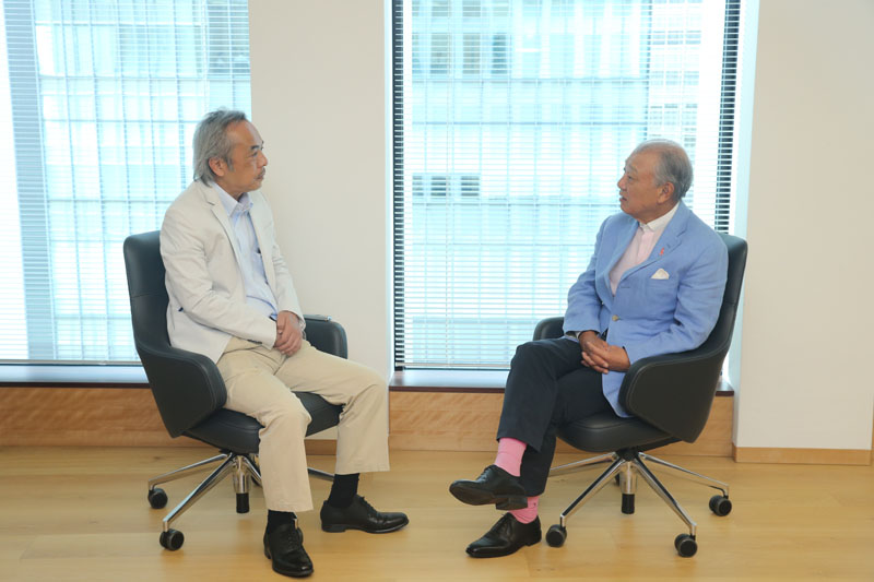 Interviewer: Nobuyuki Aoki, Senior Adviser