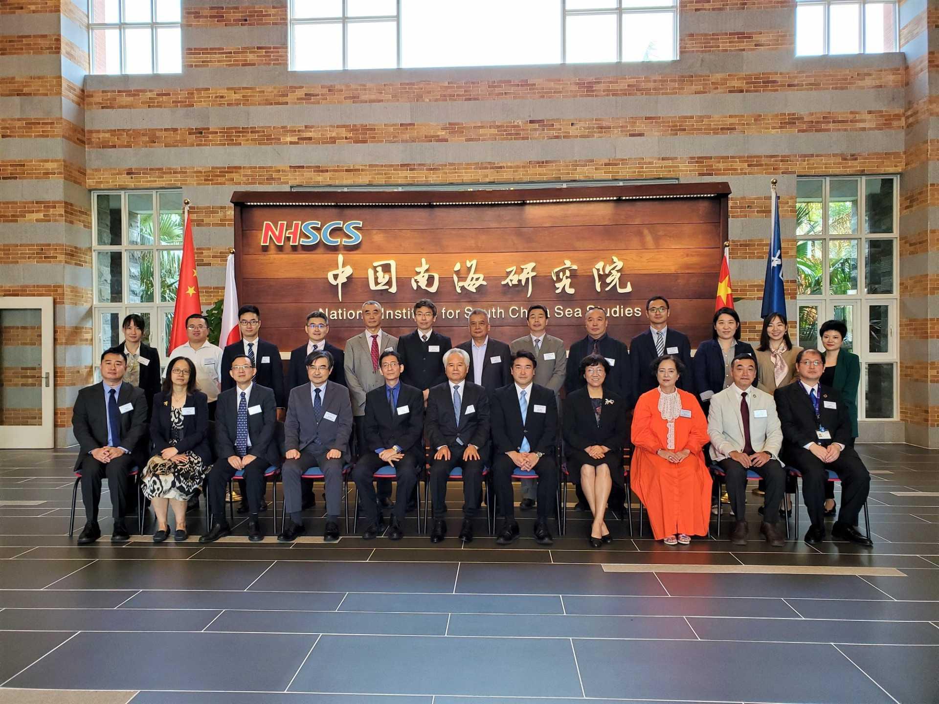 """Participants of the """"2019 Japan-China Maritime Dialogue"""""""