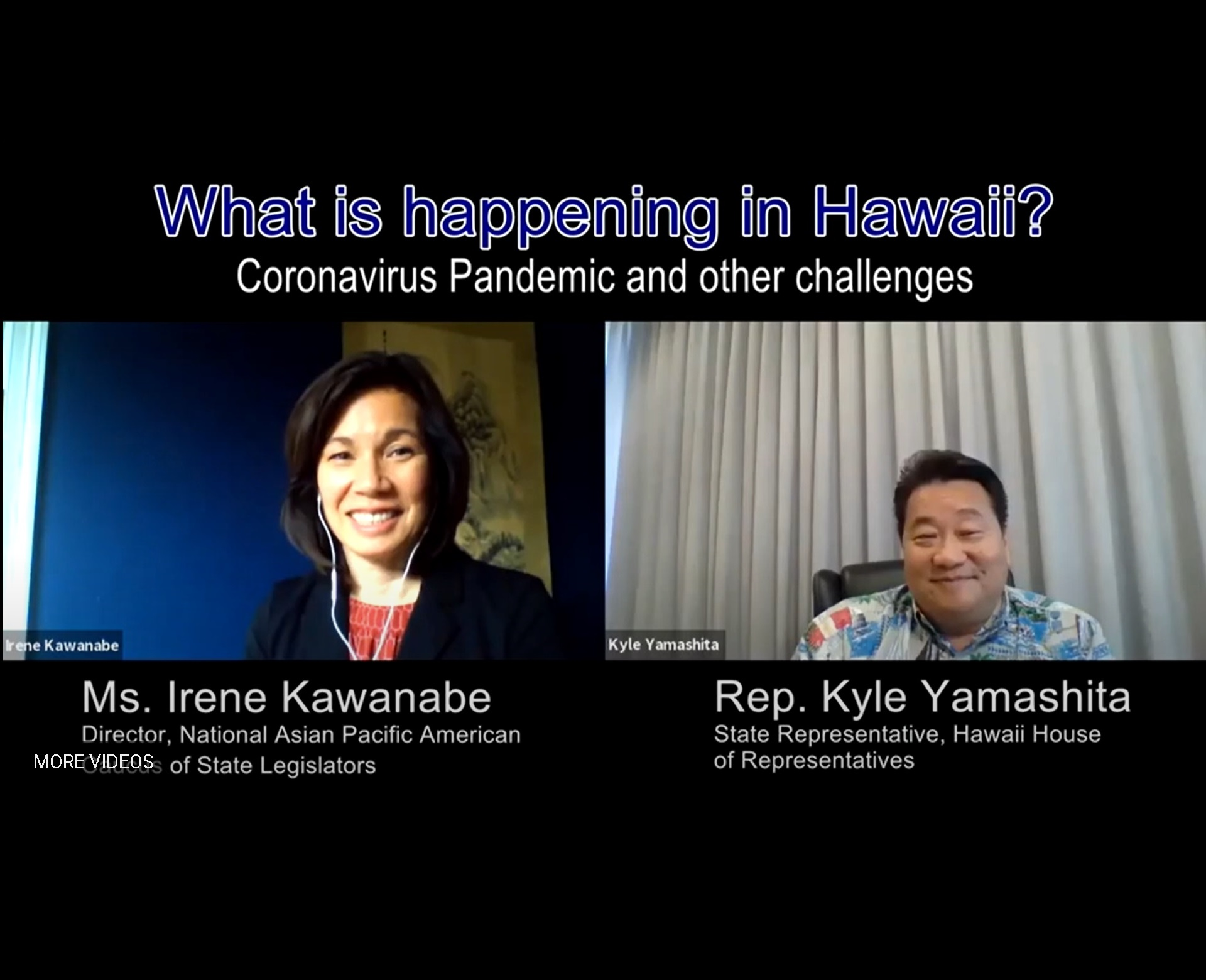 Video: What is Happening in Hawaii? The Coronavirus Pandemic and Other Challenges