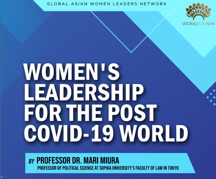 Opportunities for female political leadership in a post-COVID-19 world