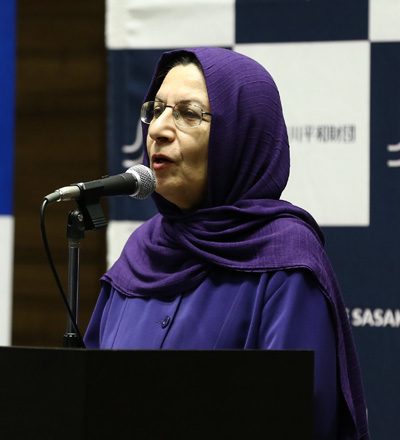 Dr. Saideh Lotfian, professor of Political Science at the University of Tehran