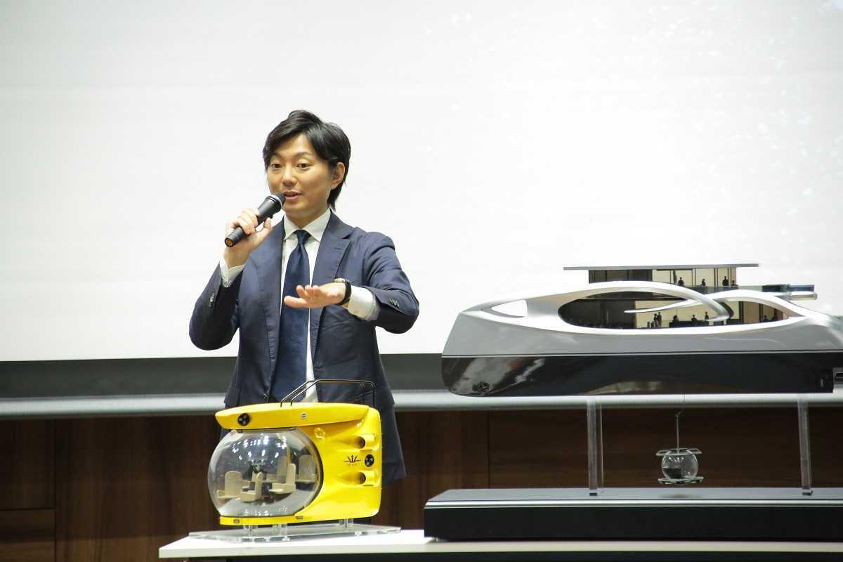 Mr. Tetsuya Yonezawa, Representative Director of Ocean Spiral Inc.