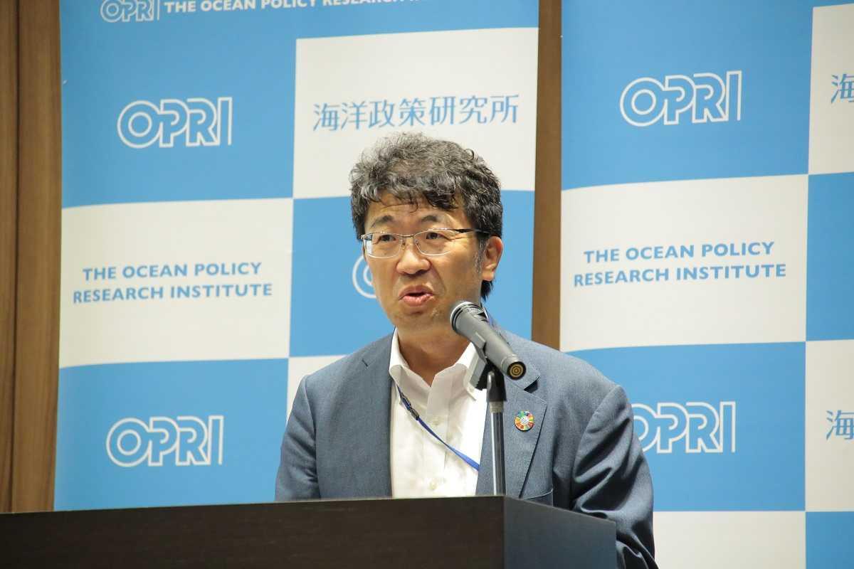 OPRI President Atsushi Sunami