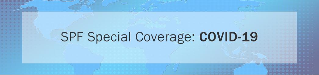 SPF Special Coverage: COVID-19 banner