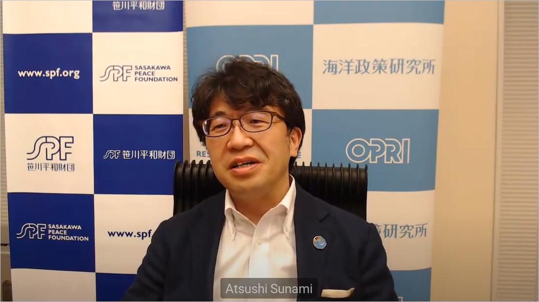Dr. Atsushi Sunami, President of SPF and OPRI-SPF