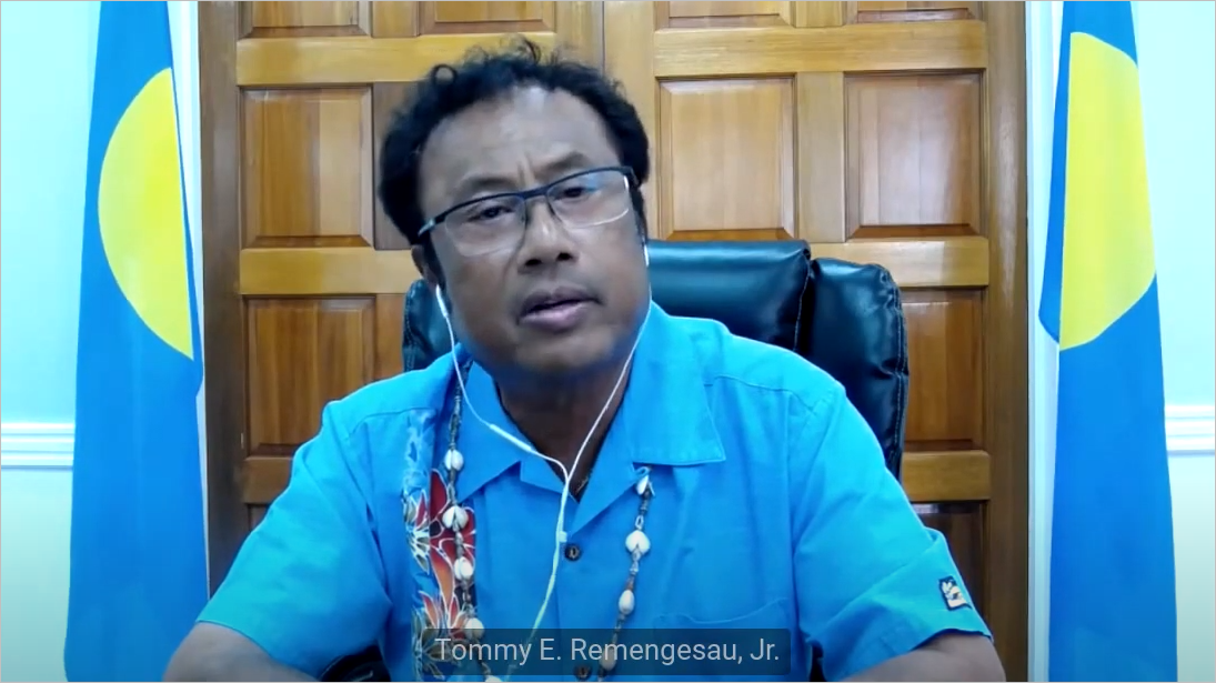 H.E. Mr. Tommy E. Remengesau Jr., President of the Republic of Palau