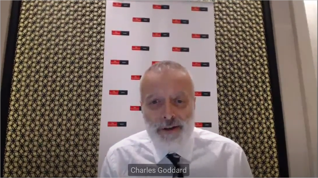 Mr. Charles Goddard, Asia-Pacific Editor at the Economist