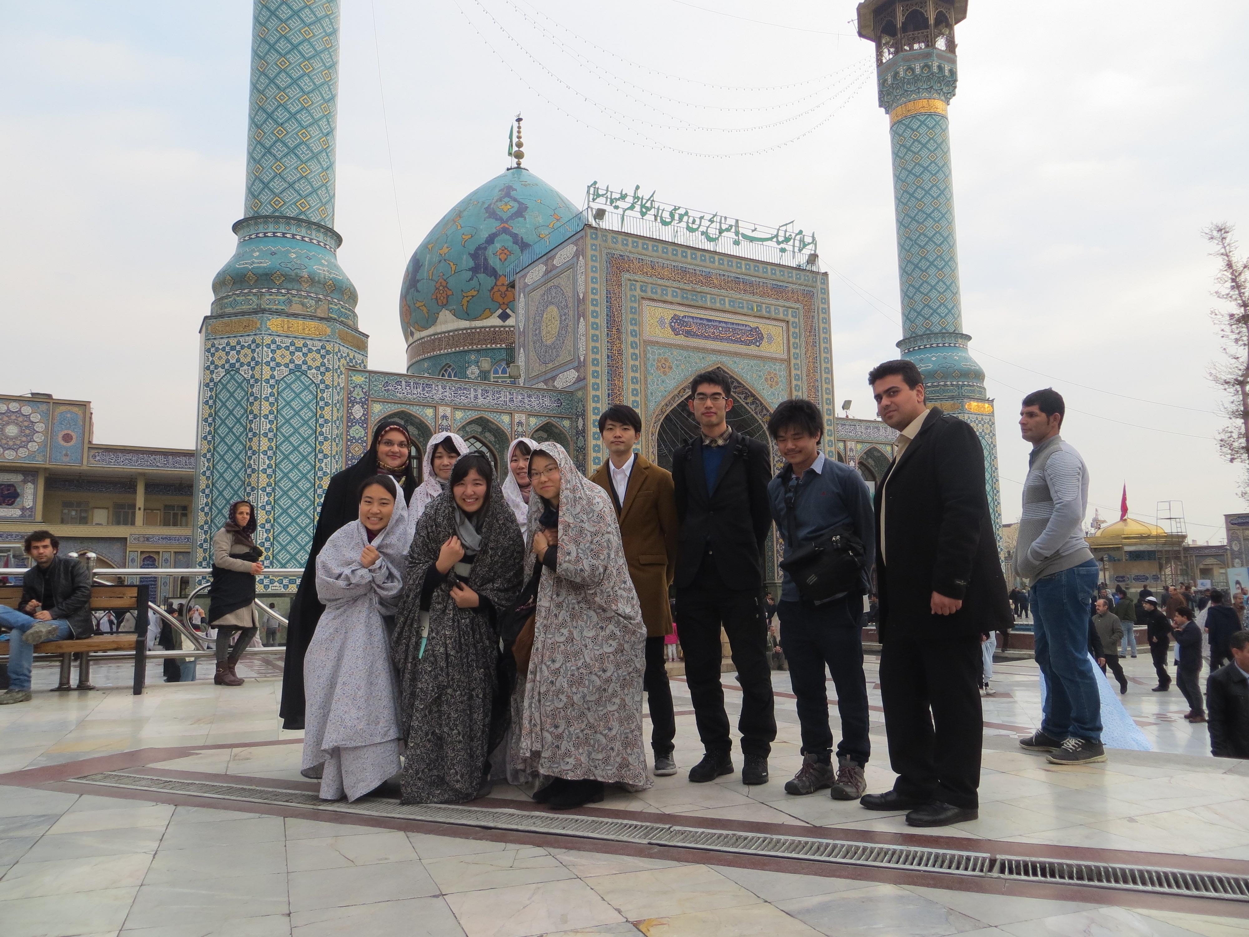 第2回イラン短期研修を実施しました(2017年12月)