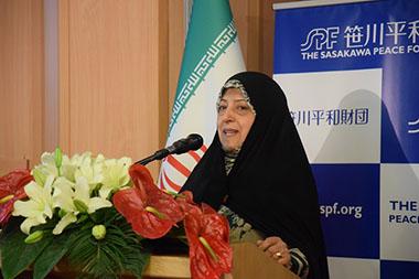 テヘランで国際ワークショップ「女性の起業家支援」を開催