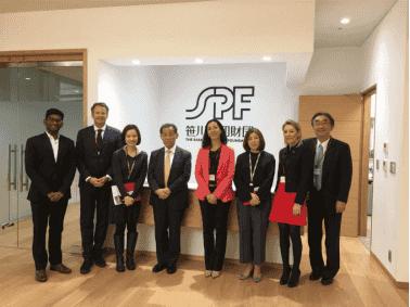 笹川平和財団の「アジア女性インパクト基金」が投資第一号として、 ブルーオーチャード・マイクロファイナンス・ファンドに10億円を拠出