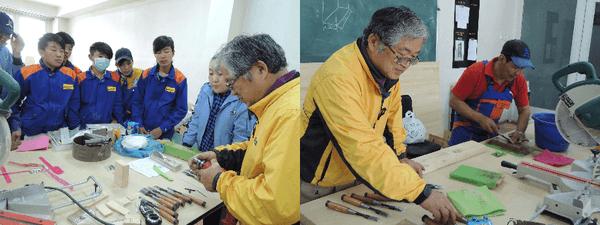 「モンゴルへの日本式高専教育導入」:木工技術の日本人専門家を工業技術大学(モンゴル)へ派遣しました