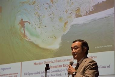 8/4 第133回 海洋フォーラム「国連 海洋・海洋法に関する非公式協議プロセス:海ゴミ、プラスチック、マイクロプラスチック」