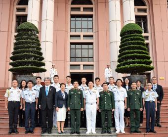 ベトナム軍のレーダーサイトなど視察  日越佐官級交流で防衛省・自衛隊代表団