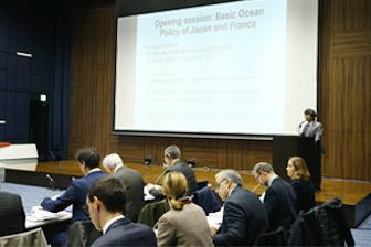 科学技術分野など海洋政策の協力を討議 2018年 日仏海洋セミナーを開催
