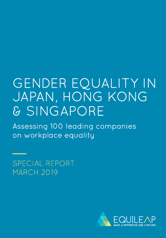 GENDER EQUALITY IN JAPAN, HONG KONG & SINGAPORE