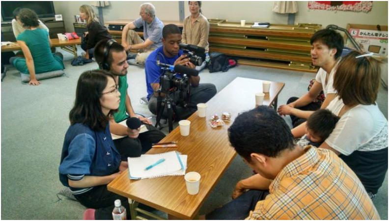 サンフランシスコ州立大学の学生が福島を取材しました!