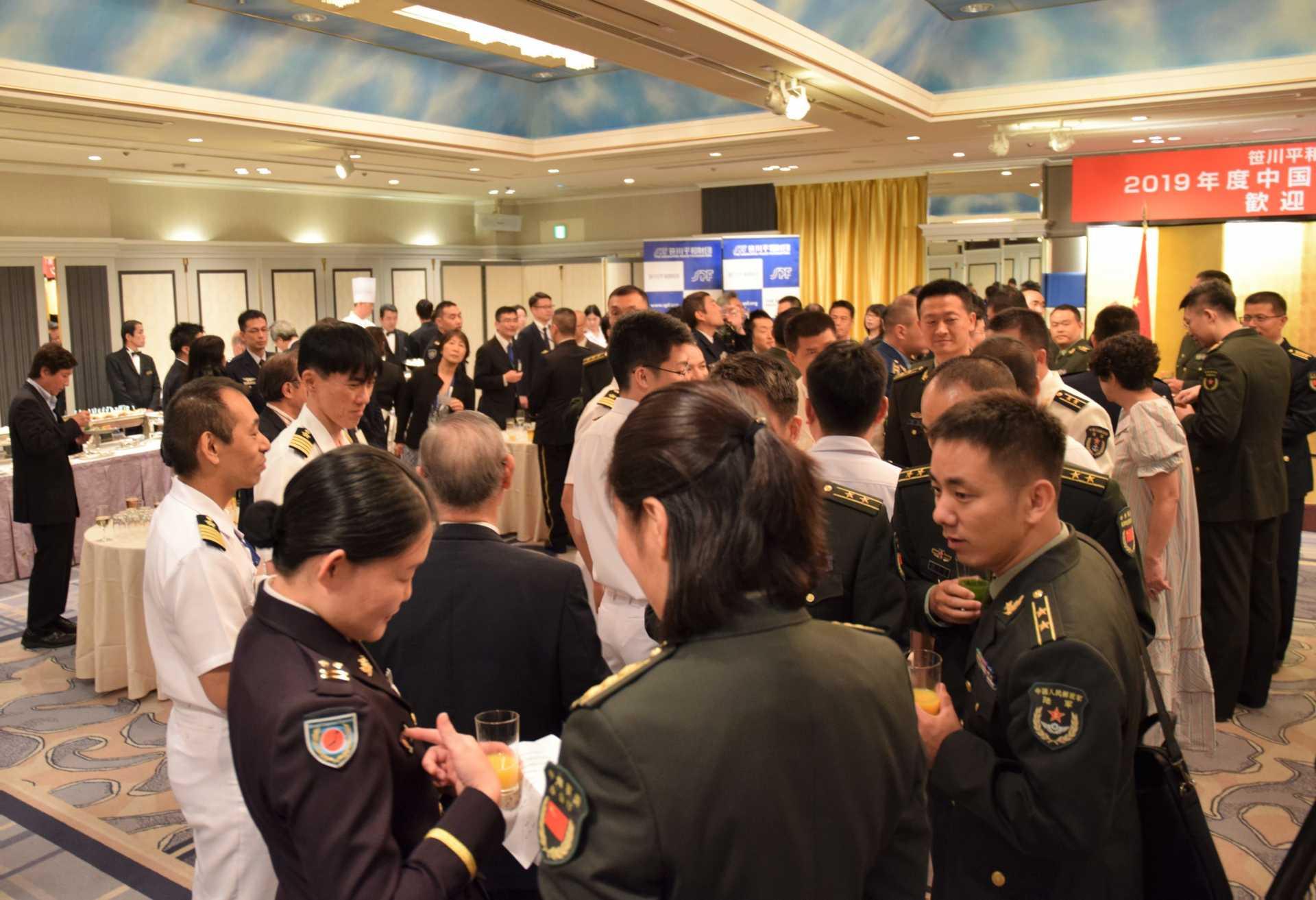 日中佐官級交流事業2019 中国人民解放軍代表団歓迎レセプション